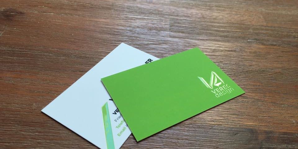 Visitenkarten Mit Relieflack Werbeagentur Veresdesign
