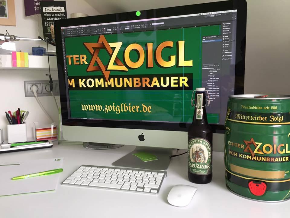 Zoigl Fass Gestaltung