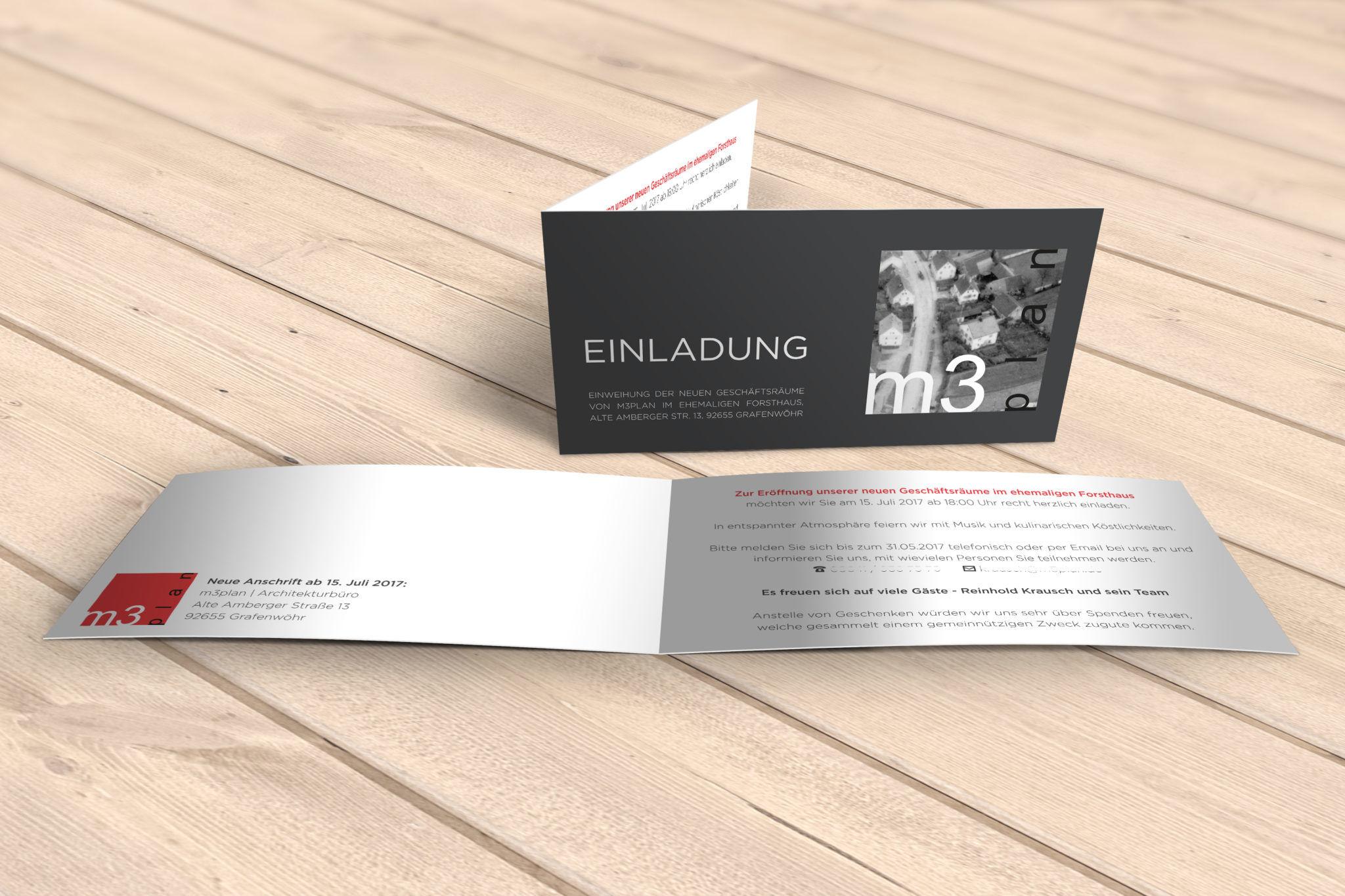 Einladung Krausch m3plan visualisiert