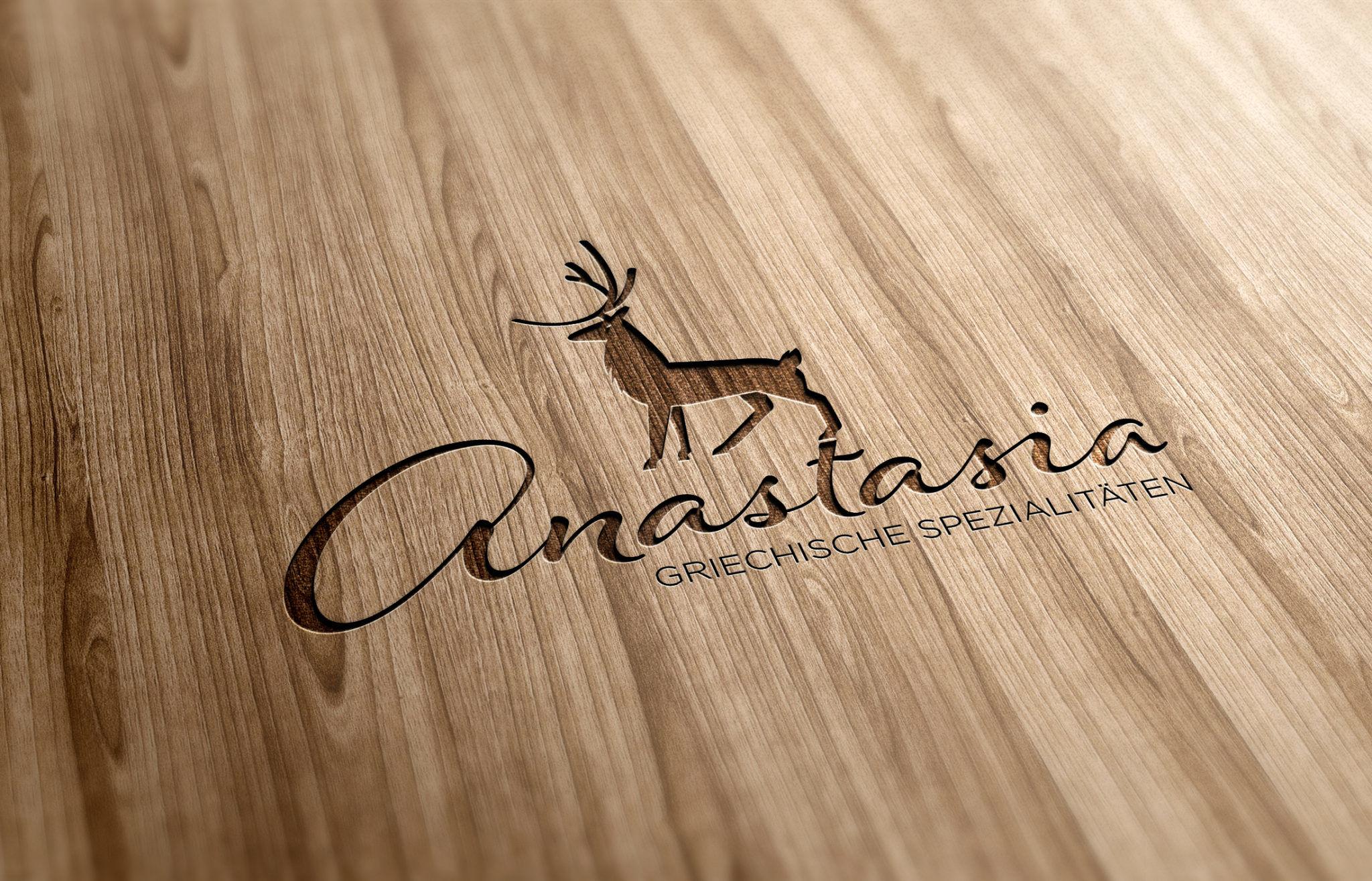 Logo Anastasia visualisert HOLZ