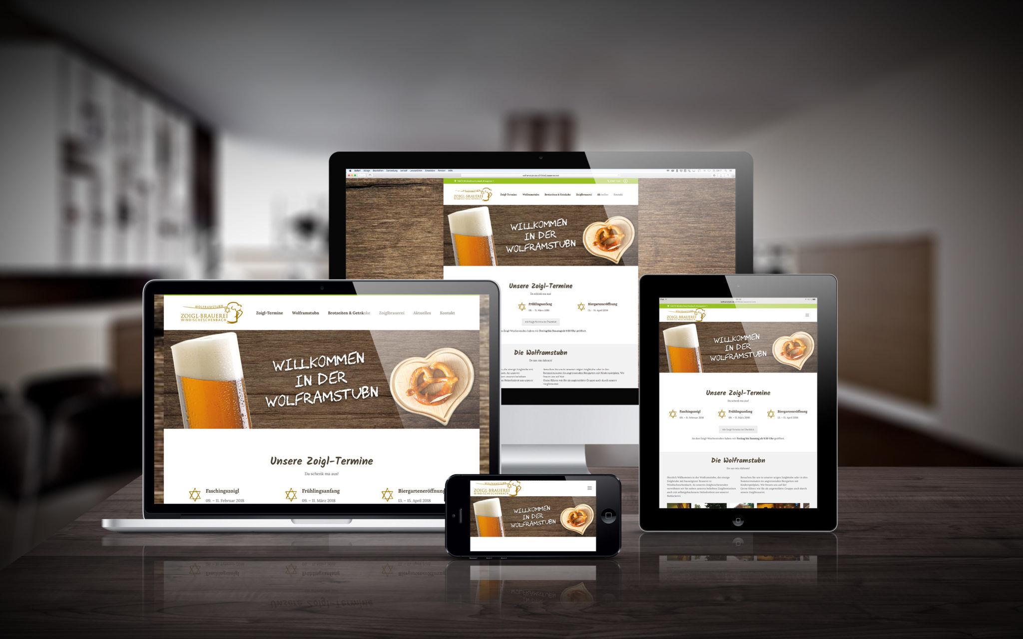 Wolframstubn Webseite