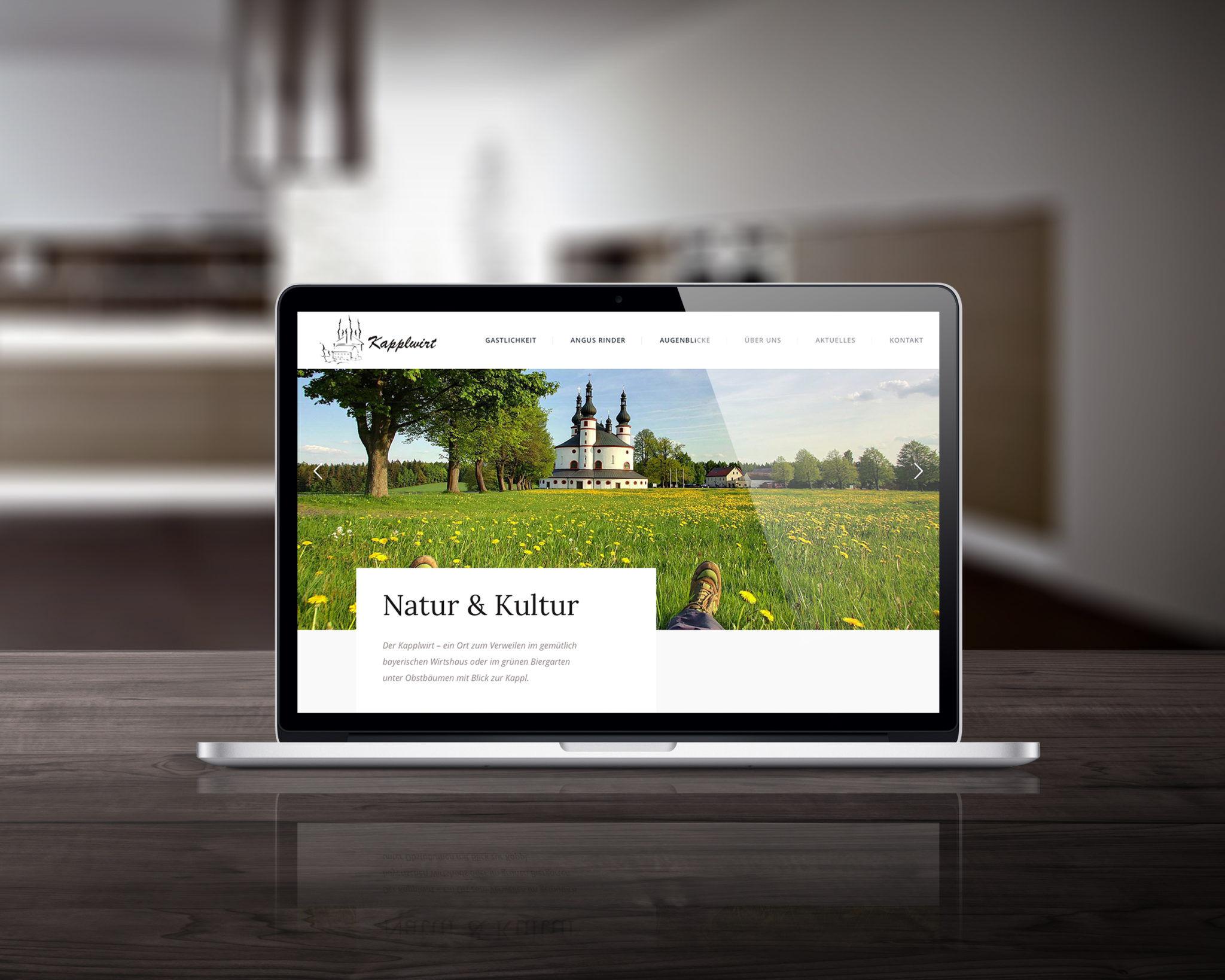 Webseite Kapplwirt