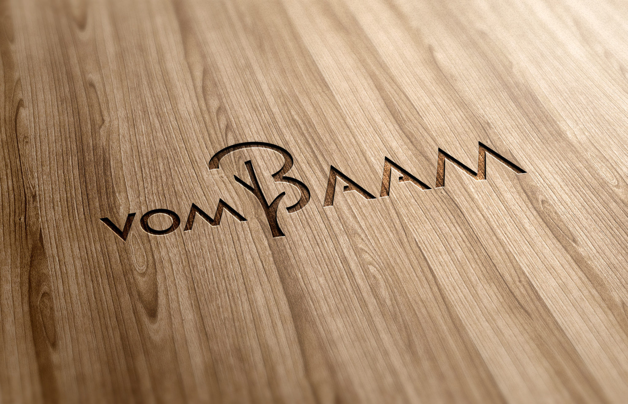 vom baam vis Holz