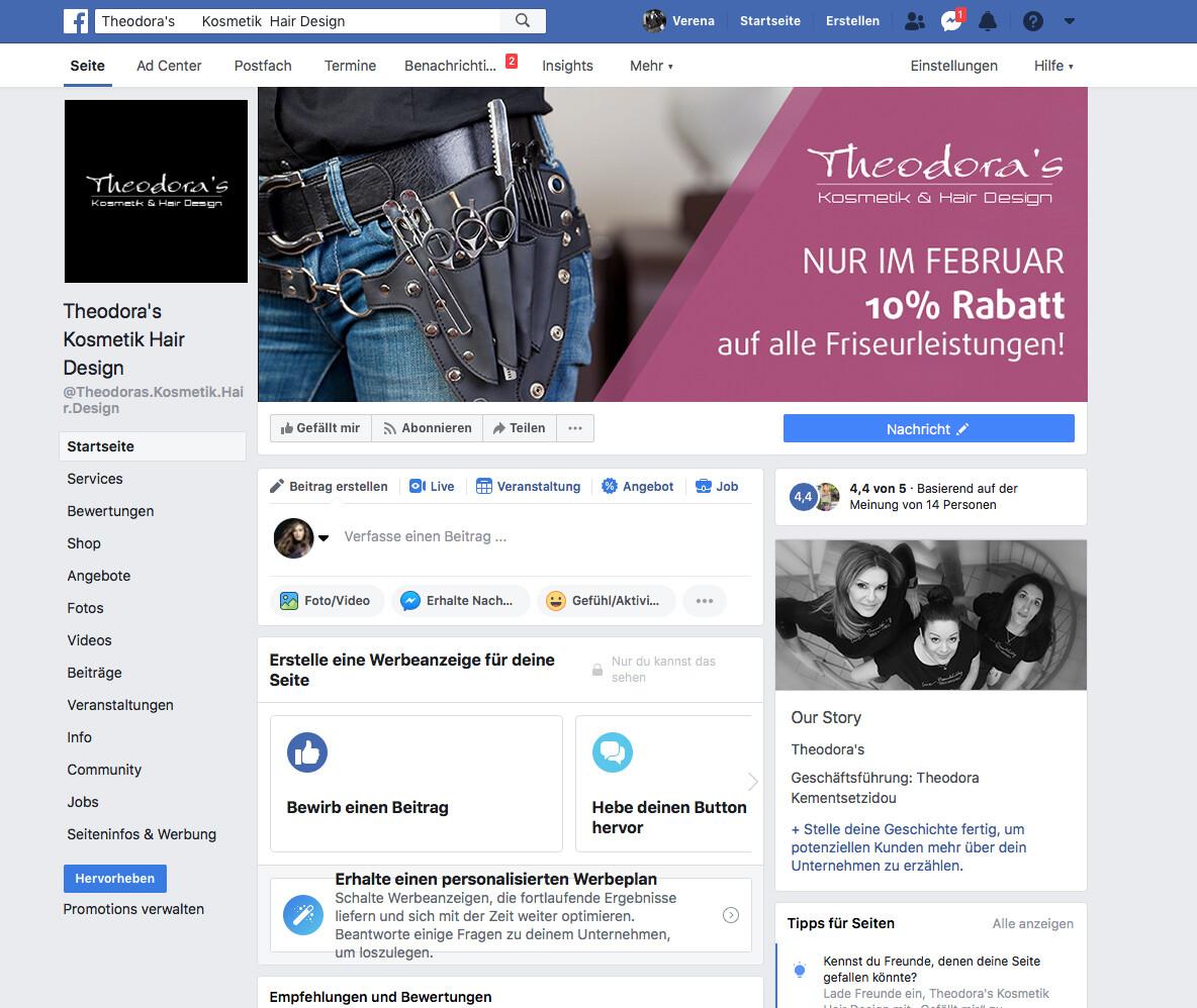 FB-Seite optimiert