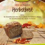 Plakat Herbstbrot Bäckerei Forster