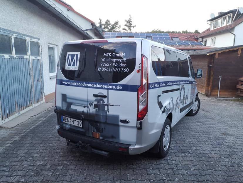Fahrzeugbeklebung MTK Sondermaschinenbau